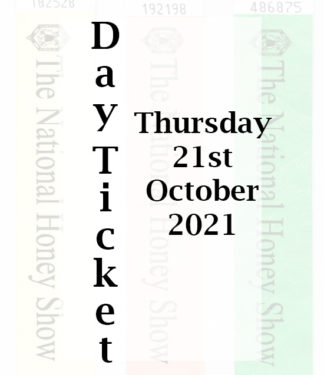 Day Entry Ticket for Thursday 21st October