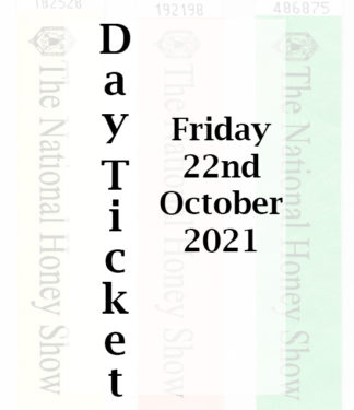Day Entry Ticket for Friday 22nd October