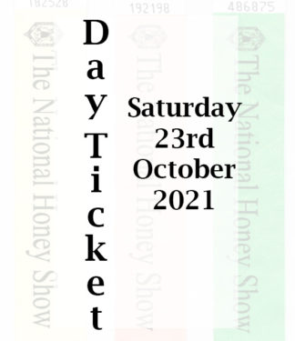 Day Entry Ticket for Saturday 23rd October